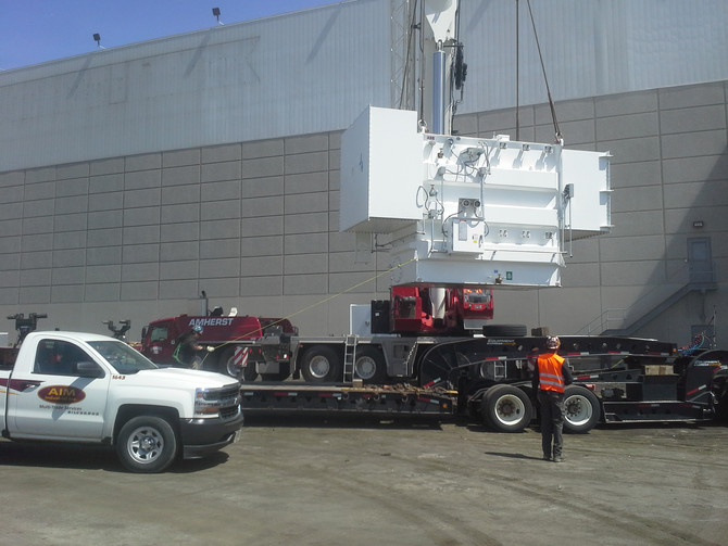 Machinery Moving / Rigging & Installation: Just some of the things we do here at AIM Industrial: