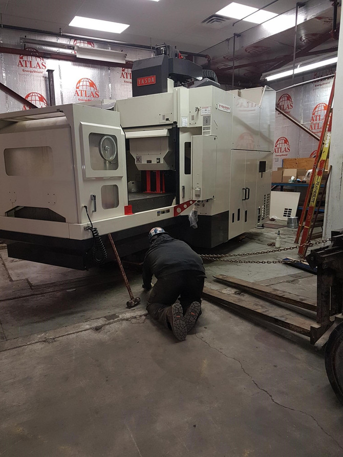 Plant Relocation: Delicate CNC Machinery