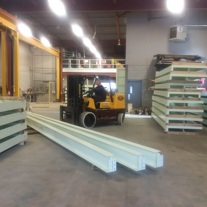 Structural Steel / Mezzanine Project at Toyota