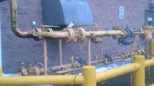 Replacement of High-Pressure Natural Gas Piping To Three Co-generation (Cogen) Units