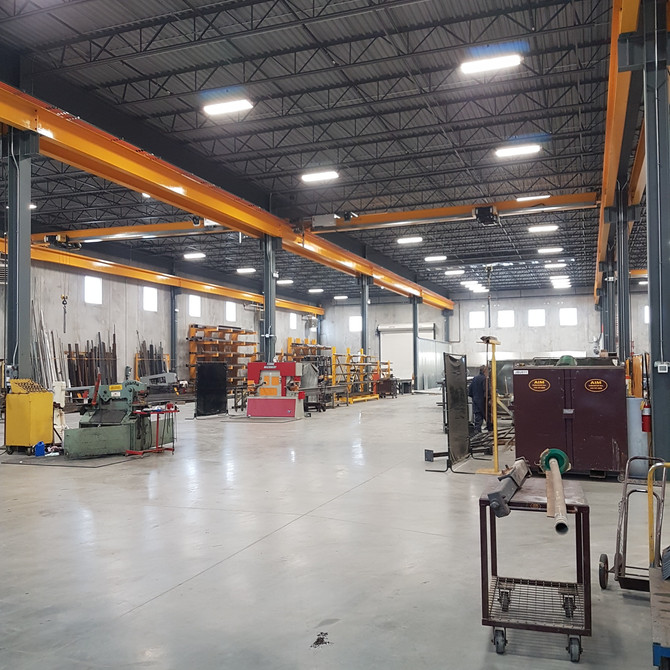 New 60,000 sq.ft. Fabrication Shop