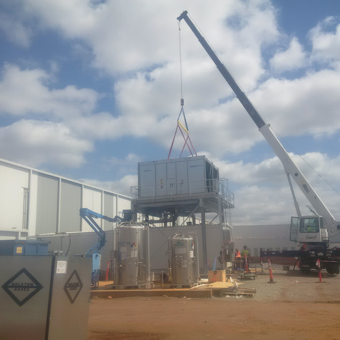 Portable and Modular Weld-Water Cooling System Supplied & Now Installed at Toyota in Alabama