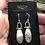 Thumbnail: Silver Fused Hinge Earrings