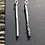 Thumbnail: Silver fused bar Earrings