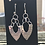 Thumbnail: Silver Fused Arrow Earrings