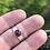 Thumbnail: Deep Pink Tourmaline paired with a sand textured  band size 7