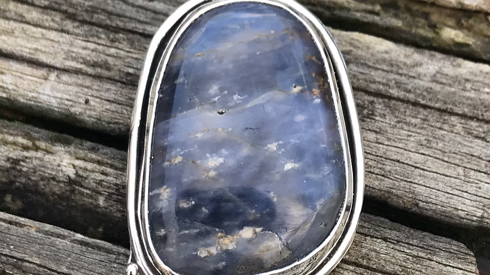 Stormy Blue Quartz