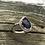 Thumbnail: Iolite Rosecut stone ring