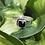 Thumbnail: Garnet in Hammered Silver