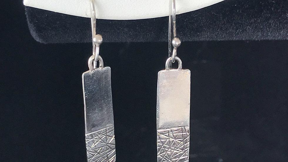 Argentium Silver Earrings
