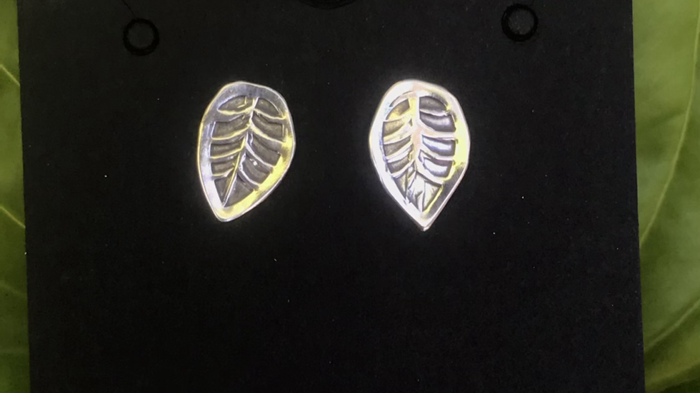 Mask Friendly Leaf Earrings