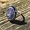 Thumbnail: Spiderweb Turquoise ring