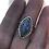 Thumbnail: Faceted Marquis Labradorite Ring