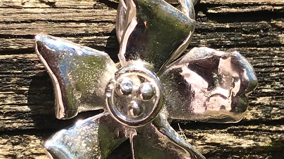 Argentium Sterling Flower #11