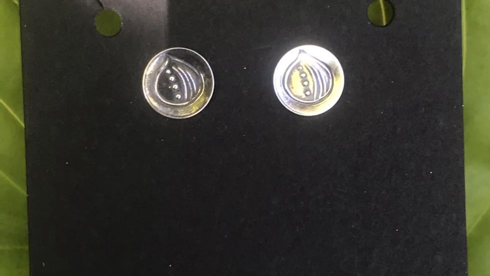 Tiny silver Earrings
