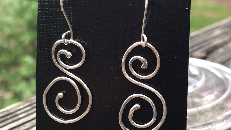 Argentium Sterling Silver Earrings