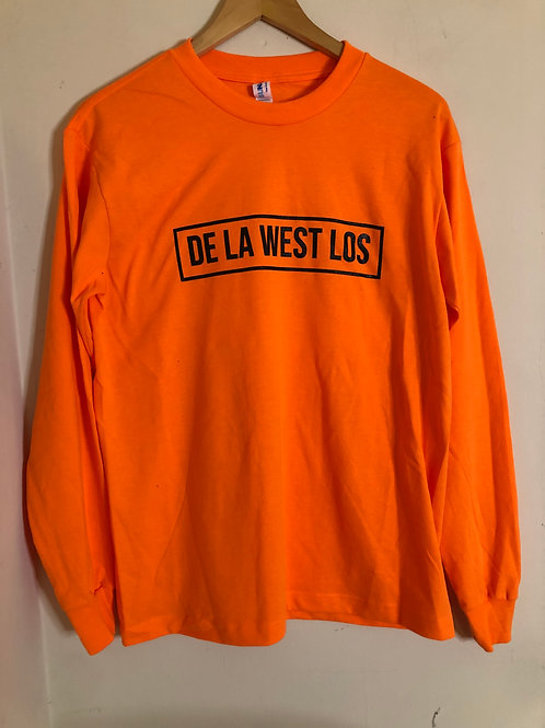 DLWL **Orange** Long Sleeve