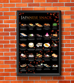 Japanese Snack Poster