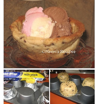 How to Make a Cookie Bowl?