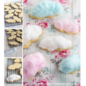 Wow! Cotton Candy Cookie!