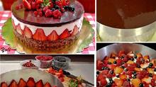How to Make Fraisier Cake