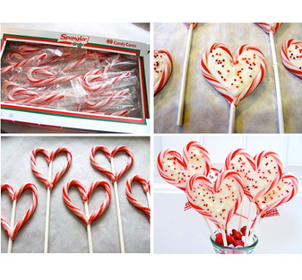 A Cute Candy Cane V-Day Gift for your girlfriends!