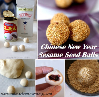 Chinese New Year Sesame Seeds Ball