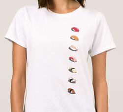 Rolls of Sushi T-Shirt