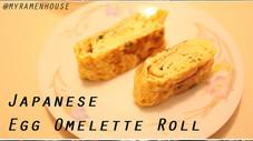 Japanese Egg Omelette Roll