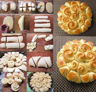 Bread Flower Art