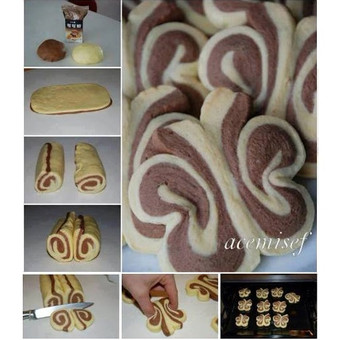 Butterfly Roll-Up Cookies
