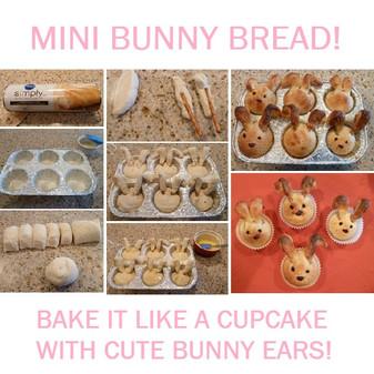 EASTER Mini Bunny Bread