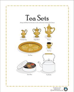 Tea Sets: Indian Tea Sets