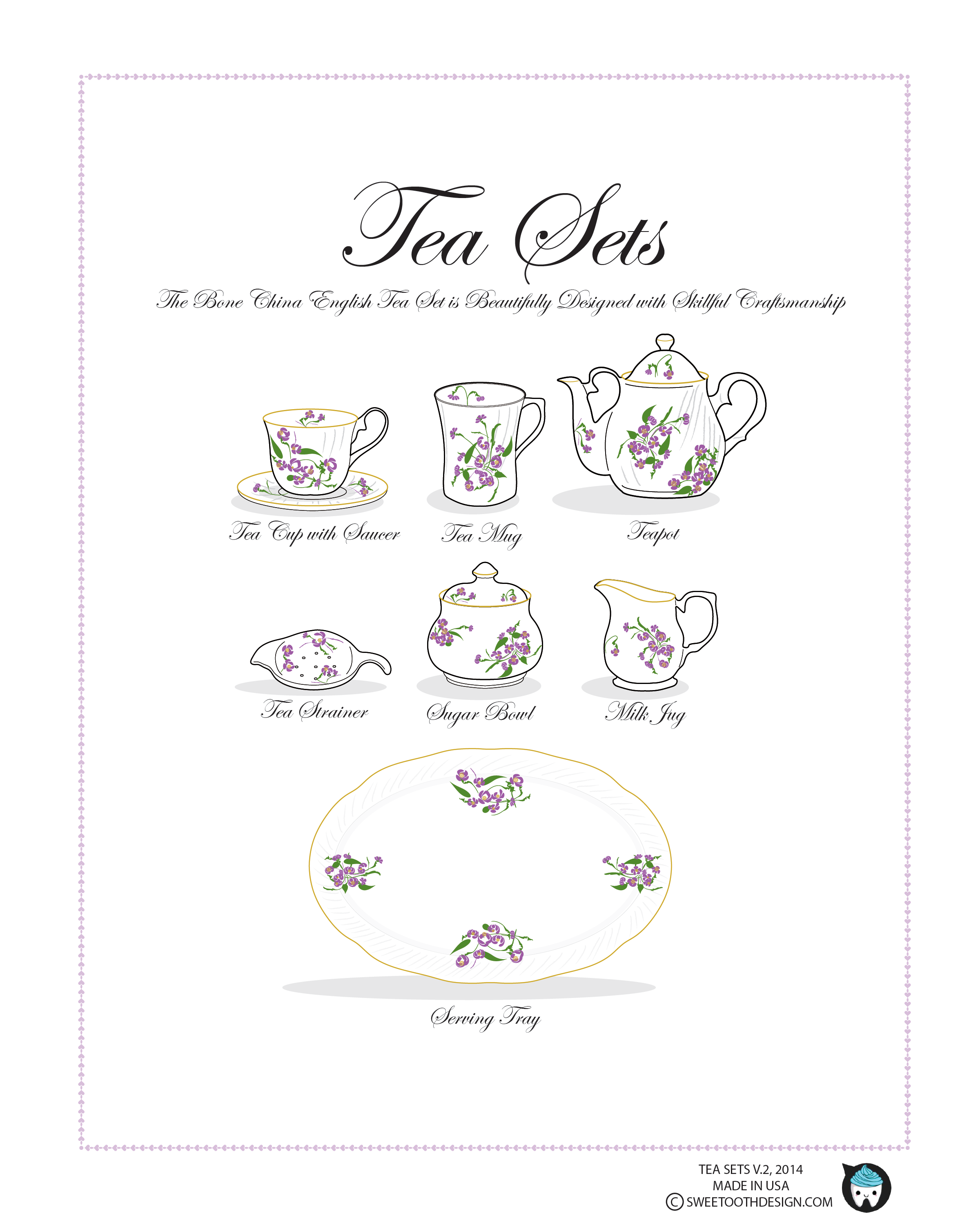 Tea Sets, English
