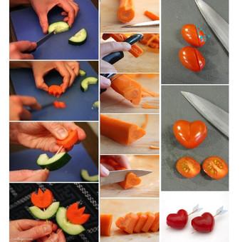 How to Cut Cute Veggie?