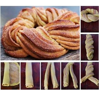 Braided Cinnamon Roll