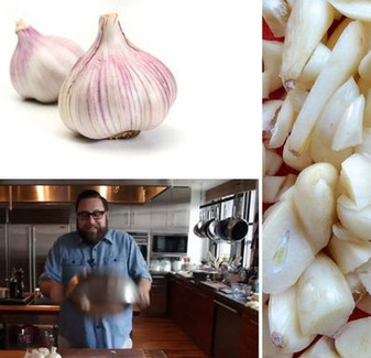 Peel Garlic in 10 Seconds!!