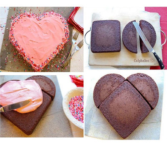 How do you make a Heart Shape Cake?