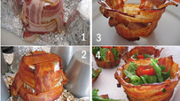 Bacon Cup for Salad!
