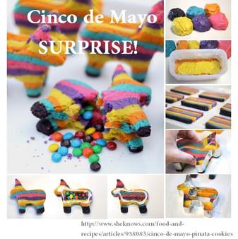 Cinco de Mayo Sugar Cookies SURPRISE!