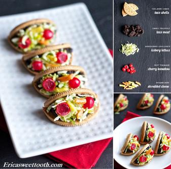 Cinco de Mayo Oreo Taco Cookies