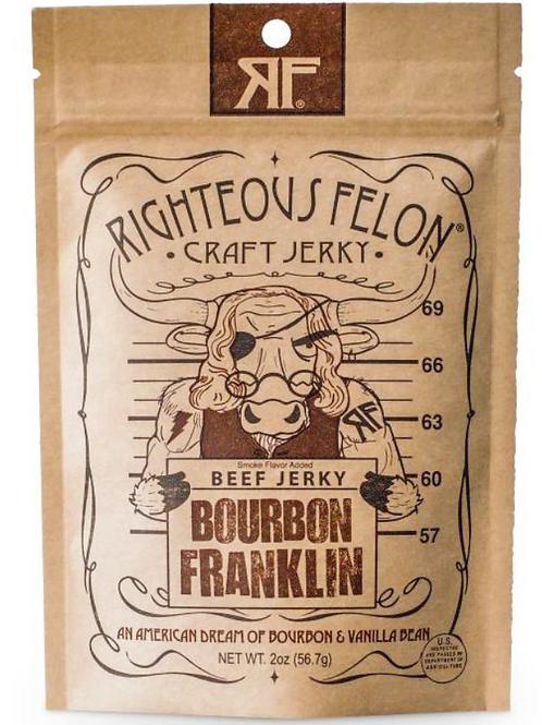 Bourbon Beef Jerky by Righteous Felon