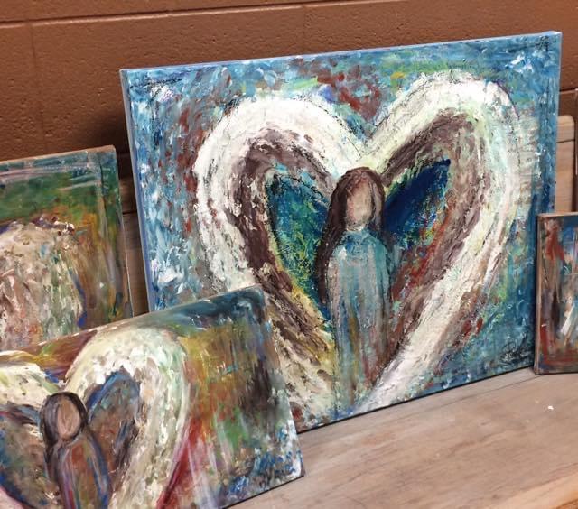 Handpainted Angels