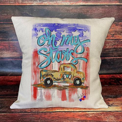 Oh My Stars pillow
