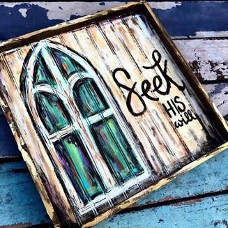 Seek His Word