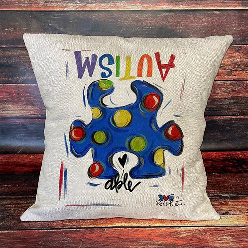 Autism 16x16 pillow