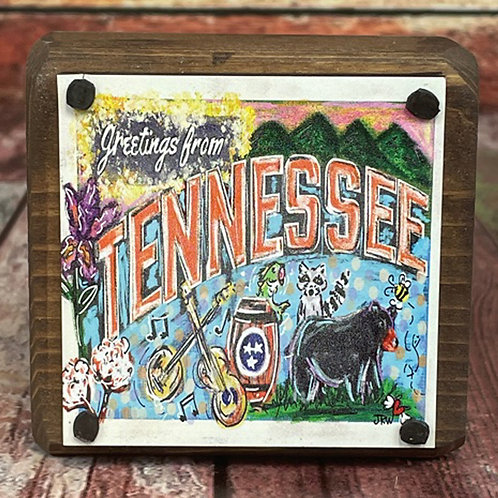 Sit Around -  Greetings from Tennessee