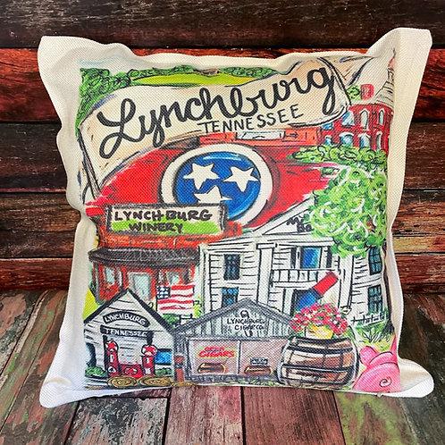 Lynchburg pillow