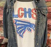 LCHS Falcon 3/4 sleeve shirt