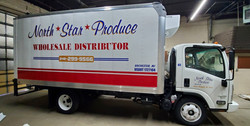 North Star Produce Box Truck Decals